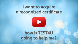 TEST4U addresses to those who want to self-improve their skills without the guidance of a teacher. TEST4U is the only preparatory software that you need in order to start and complete your education