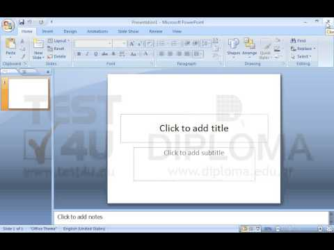 Among the Microsoft Office applications which are open, close the Microsoft PowerPoint application only.