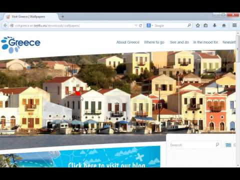 Configure Mozilla Firefox so it blocks images from the current webpage (visitgreece.en.test4u.eu). Then refresh the page.