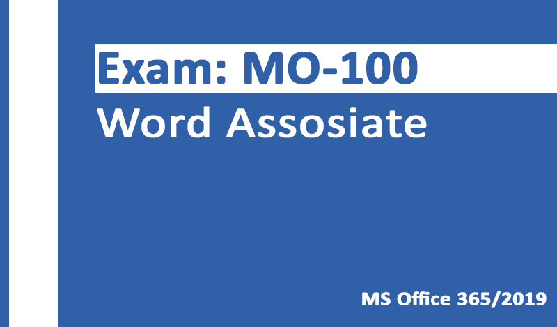 TEST4U MO-100 Word Assosiate