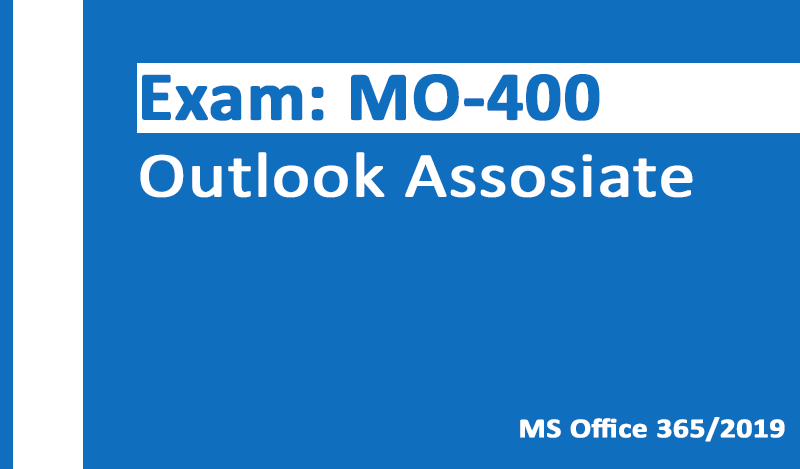 TEST4U MO-400 Outlook Assosiate