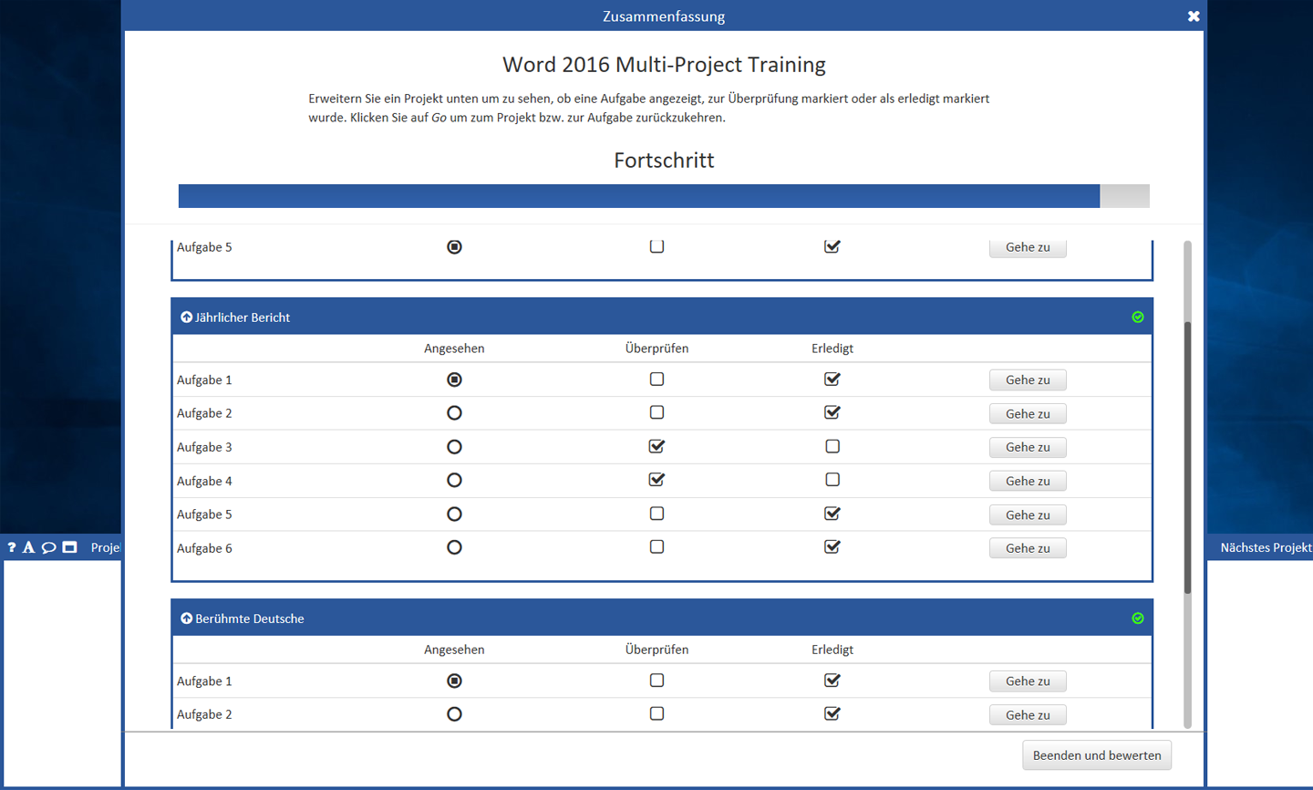 MOS Word Expert Multi - project