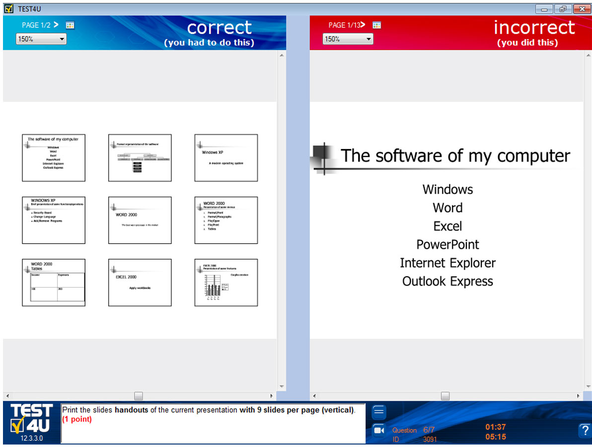 TEST4U Business Word Expert for Word Processing – Expert Level-Deutsche Version