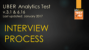 TEST4U UBER Analytics Test v.3.1 & v.6.16